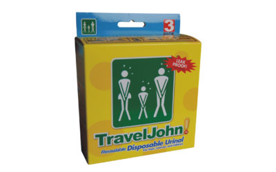 TravelJohn™ mobilt urinal